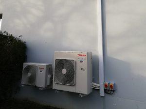 Installation de climatisation de bureau en entreprise à Nantes et Cholet par Airfix Energies